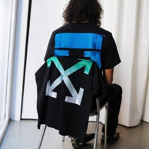 最高75折 小仙女也能超酷!OFF WHITE 精选潮衣潮鞋热卖 收logo卫衣