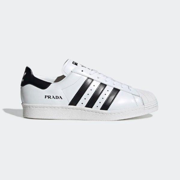 黑白配色贝壳鞋