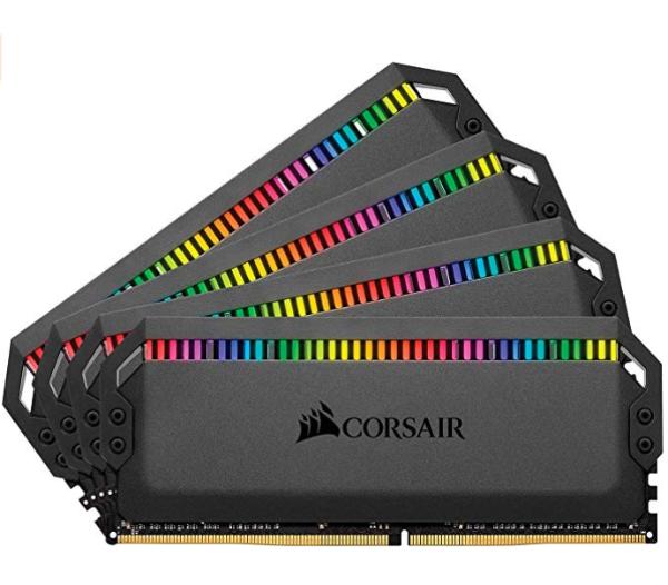 Dominator Platinum RGB 32GB (4 x 8GB) DDR4 3200 C16 内存套装