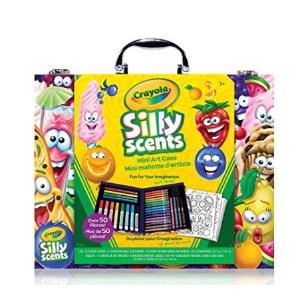 销量冠军+史低价$10.87 (原价$22.99)Crayola 可水洗儿童绘画工具套装