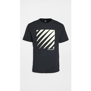 New Balance条纹T恤