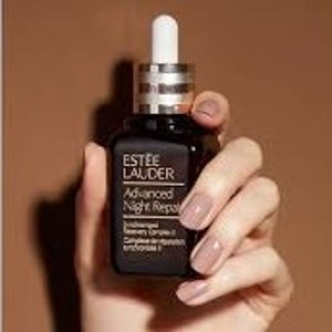 送红石榴2合1洁面(价值$48)Estee Lauder A.N.R小棕瓶夜间修复精华