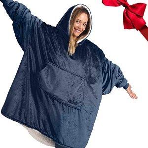 低至7.5折 £15起收Amazon 可以穿的毯子 室内、室外防寒保暖 绒绒的超酥服