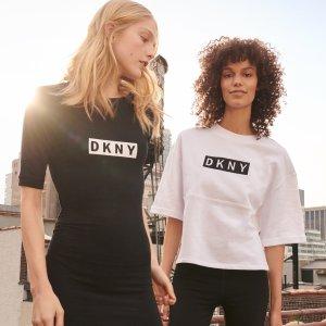 低至5折+额外7折 $18收T恤折扣升级:DKNY 折扣区服饰特价热卖