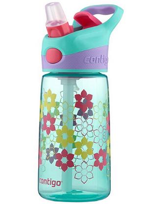 $5 Contigo AUTOSPOUT Straw Striker Kids Water Bottle, 14oz