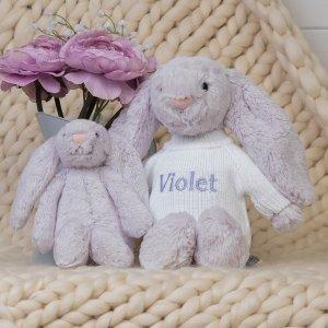 无门槛8折 €12收邦尼兔Jellycat 软萌网红小兔子 治愈毛绒玩偶 冬季暖心必备