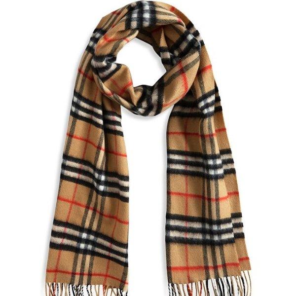 经典款羊绒围巾