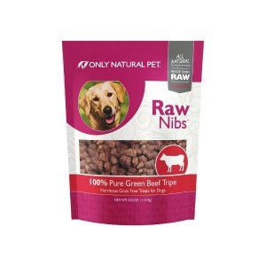 Only Natural PetBuy 1 Get 1 50% OffRawNibs Freeze-Dried Green Tripe Dog Treats