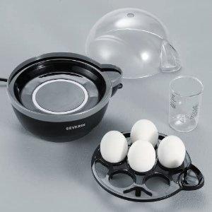 低至5.9折 €13.49收白色款Severin 煮蛋器热促 各种熟度轻松掌控 德亚3000+好评