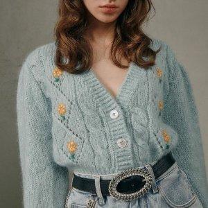 低至5折+全部7折 £353收封面开衫Alessandra Rich 全场闪促 甜美泡泡袖、波点裙明星也爱