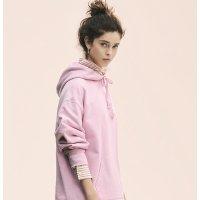 Uniqlo 蔷薇粉 卫衣