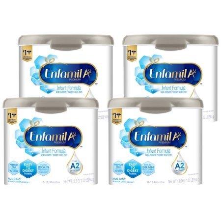 婴儿A2配方奶粉19.5盎司*4罐装