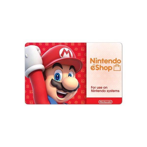 eShop $35 电子礼卡