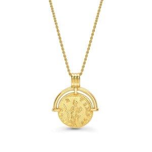 Missoma罗马硬币项链