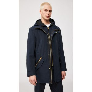 Mackage2-in-1 classic rain jacket with removable hood