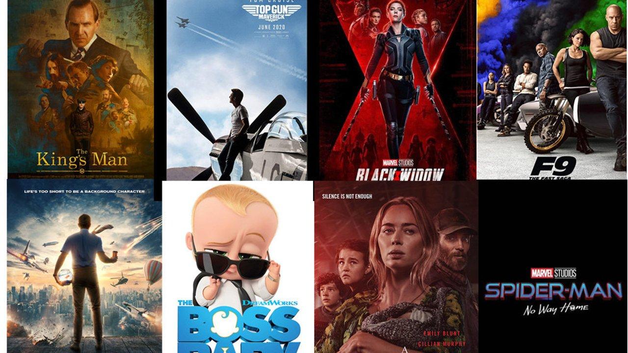 2021值得期待美国电影推荐!黑寡妇,速度与激情,007美国电影大片看不停!