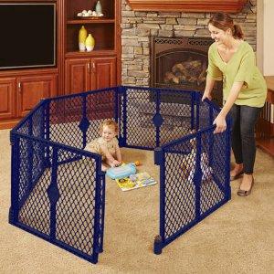 $46.35North States 婴幼儿安全围栏 6片装 蓝色