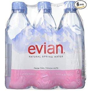 Evian天然矿泉水 500ml 6瓶
