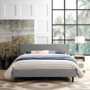 Anya Fabric Bed