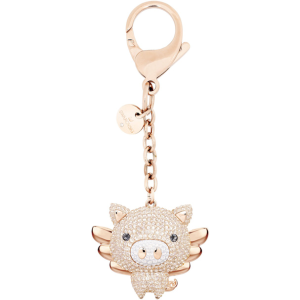 $79LITTLE PIG BAG CHARM @Swarovski
