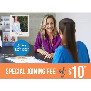 新会员10周仅需$10JENNY CRAIG 健康管理顾问