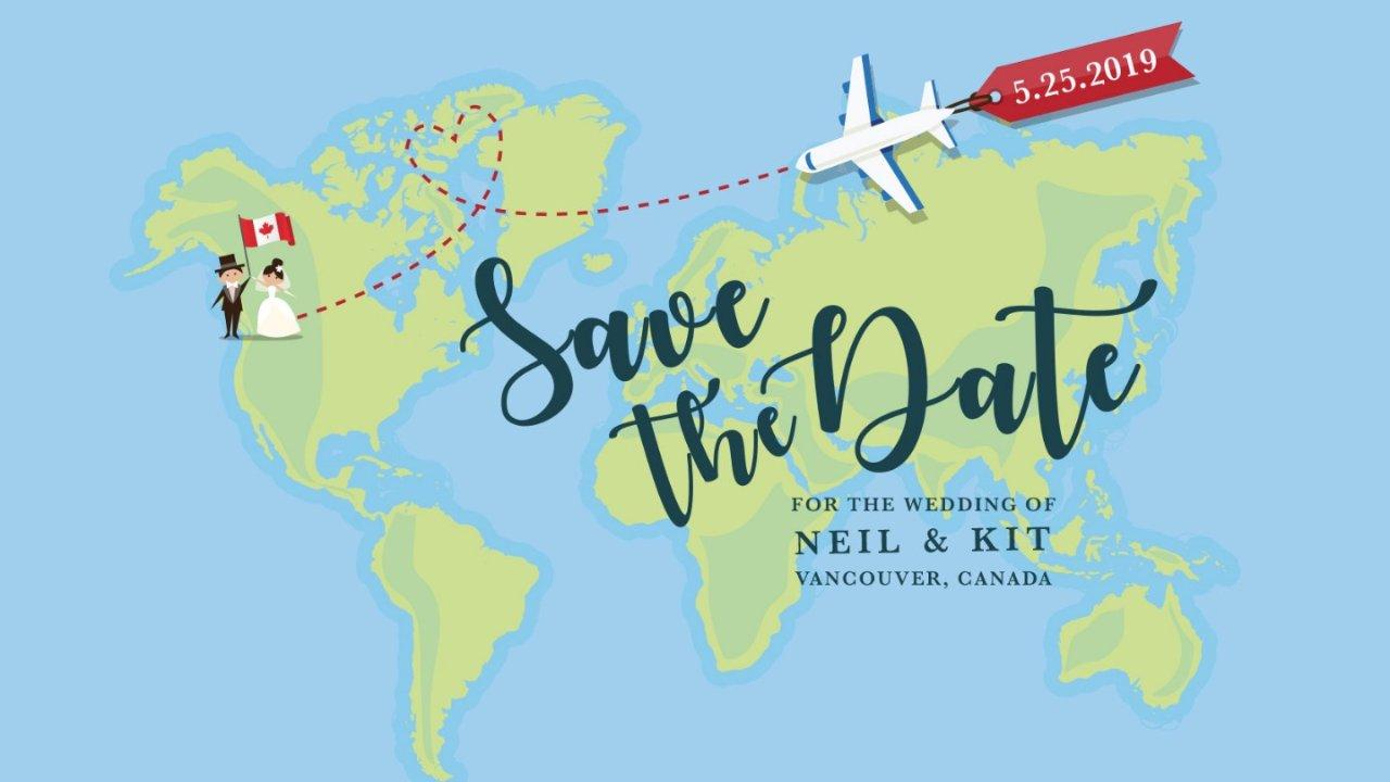 第一次在加拿大結婚就上手(二)DIY喜帖篇