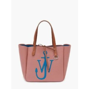 JW AndersonRECYCLED CANVAS BELT TOTE in pink | JW Anderson
