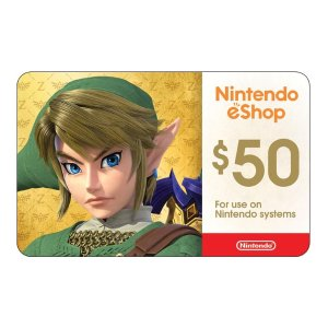 $45Nintendo eShop $50 电子礼卡