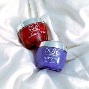 低至3折Olay精选护肤产品热卖 收经典大红瓶面霜套装