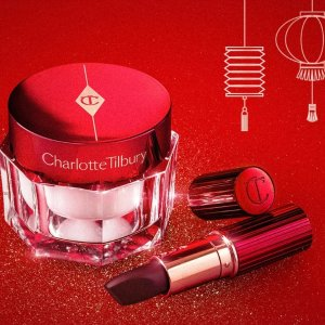 As Low as $34Charlotte Tilbury RED Magic Cream and Magic Red Lipstick