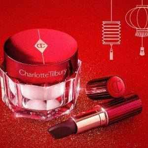 $30.6起 新人享9折Charlotte Tilbury 新年限定彩妆上市 收哑光口红