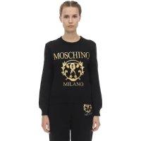 Moschino 金色印花运动衫