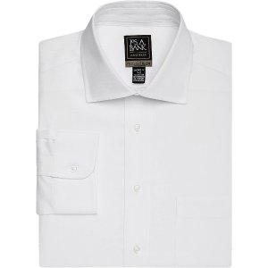 4 for $125Travel Tech Tailored Fit Spread Collar Twill Dress Shirt
