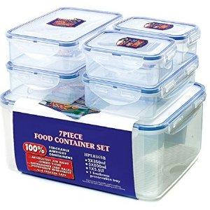 现价£17.07(原价£25.75)Lock & Lock 乐扣 密封保鲜盒6件套热卖