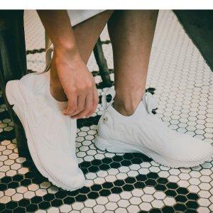 低至3折Reebok男女运动鞋热卖 收明星潮鞋Pump Supreme ultraknit