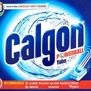 低至7.5折 £10 收45粒装Calgon 洗衣神器 神效三合一
