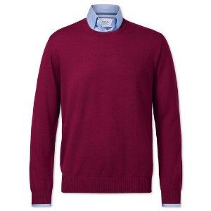 Charles Tyrwhitt 红色毛衣