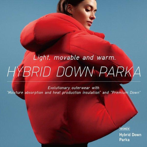 HYBRID DOWN 新款羽绒服