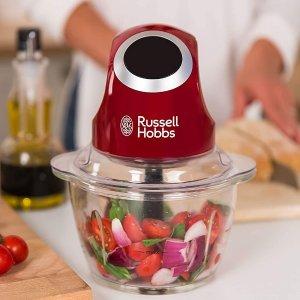 折后€24.99 原价€29.99Russell Hobbs 电动食物粉碎机 饺子馅、宝宝辅食、坚果碎