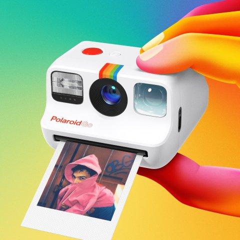 €119.99收 支持经典双重曝光功能Polaroid Go 新一代mini宝丽来 可能是最小巧的即时成像相机