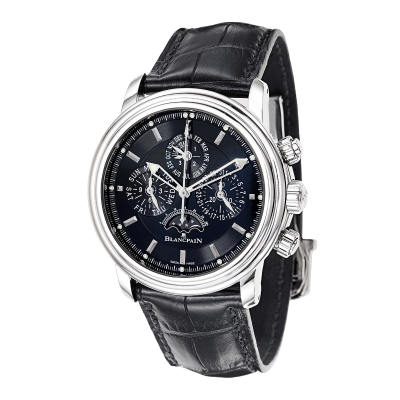Dealmoon Exclusive: BLANCPAIN Leman Flyback Chrono Perpetual Calendar Men's Watch
