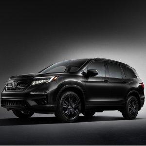 比黑更黑的黑到底是有多黑本田推出纯黑车型 2020 Honda Pilot Black Edition