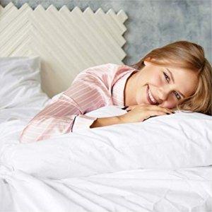 低至7.4折Amazon 精选超柔软100%纯棉床品套装及窗帘热卖