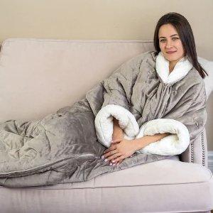 3合1保暖毯子