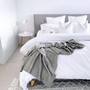低至3折 人造皮草抱枕仅$20Canningvale 本周特卖 收灰色系毛巾、眼罩、床品