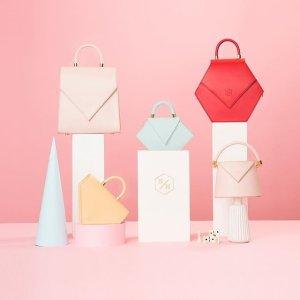 抽奖送红色水桶包 低至8折+全球免邮即将截止:Nina Hauzer美包美鞋专场,小众包包翘楚、西班牙全手工制造