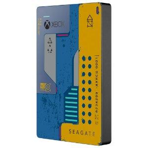 $99.99(原价$129.99)Seagate 2TB Xbox Cyberpunk 2077 外置硬盘