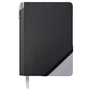 Black & Light Gray Medium Jotzone with Pen - Blank Paper