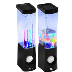 $14.95 (原价$19.95)Xcellon 跳舞的水花 桌面音箱