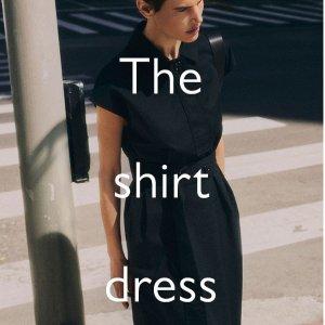 3折起+额外9折 £31起就收衬衫裙上新:COS 优雅衬衫裙专场 平价的北欧风高级感